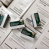 Record-Eagle/Douglas Tesner<br /> H1N1 influenza vaccine boxes are stacked before the start of a flu clinic held by the Grand Traverse County Health Department.