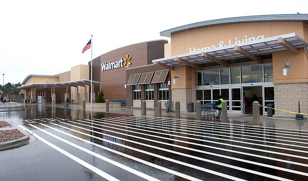 Record-Eagle/Douglas Tesner<br /> Traverse City's Walmart store will formally unveil its new expansion on Wednesday at 7:30 a.m. to include a ribbon-cutting ceremony. The revamped store will include a full line of groceries, more than 30 merchandise departments and other features. The expansion also created around 100 new jobs, the company said. The store is open around the clock and is located at 2640 Crossing Circle drive off South Airport Road.