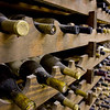 Record-Eagle/Keith King<br /> Wine is stored in the cellar of Chateau Chantal.