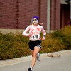 Record-Eagle/Jan-Michael Stump<br /> Tasha O'Malley finished the Zombie Run 5K in 19:59.3 Saturday morning.