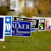 Record-Eagle/Keith King<br /> Campaign signs are displayed Friday, October 29, 2010 along East State Street in Traverse City.