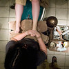 Record-Eagle/Jan-Michael Stump<br /> Spa Grand Traverse cosmetologist Jill Burton gives a pedicure to Denelle Jacobus, of Kalkaska.