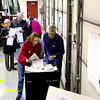 Record-Eagle/Keith King<br /> Voters submit their ballots Tuesday, November 2, 2010 in Long Lake Township Precinct 1 at the Grand Traverse Rural Fire Department Station 10 Long Lake building.