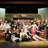 Record-Eagle/Keith King<br /> The cast of Irving Berlin's White Christmas pose for a portrait Thursday, October 28, 2010 at the Old Town Playhouse. Performances of the show will begin Friday, November 5, 2010 at 8:00 p.m.
