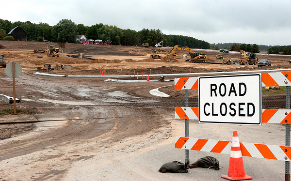 Record-Eagle/Douglas Tesner<br /> New parking lots and a driveway are under construction at Turtle Creek Casino and Hotel in Whitewater Township.
