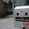 Record-Eagle/Sheri McWhirter<br /> Trustees at Northwestern Michigan College in Traverse City will consider banning tobacco use on campus.