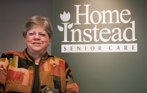 Record-Eagle/Douglas Tesner<br /> Janis Russell is the franchise owner of Home Instead Senior Care, which places caregivers with area senior citizens.