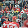 Record-Eagle/Keith King<br /> Fans watch as the Detroit Red Wings hold training camp Saturday at Centre ICE in Traverse City.