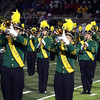 Record-Eagle/Keith King<br /> The Traverse City West marching band performs at halftime at Thirlby Field.