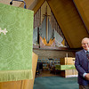 Record-Eagle/Keith King<br /> Dr. Gary Hogue has been the senior pastor at First Congregational Church in Traverse City since 1984.