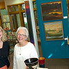 Record-Eagle/Jan-Michael Stump<br /> Marcia Bellinger, right, is retiring and closing Belstone Gallery after 23 years, while Christie Minervini will be opening a second location of Gallery 50 in its place on East Front Street.