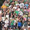 Record-Eagle/James Cook<br /> Fans came out for Thursday's TC West, TC Central soccer showdown.