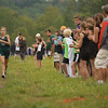 Record-Eagle/Jan-Michael Stump<br /> Alpena's Taylor Stepanski wins the girls race in Tuesday's Traverse City West Cross Country Invitational at Hickory Meadows with a time of 19:48.