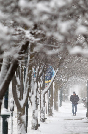 APRIL (SNOW) SHOWERS