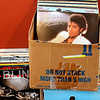 Record-Eagle/Jan-Michael Stump<br /> Albums wait to be organized at RPM Records, which will open next to The Sound Room on South Airport Road. The store will have about 10,000 records to start, but the owners plan to have as many as 40,000 when they finish the basement portion of the store by the end of the summer.