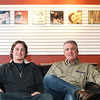 Record-Eagle/Jan-Michael Stump<br /> Alex, left, and Greg Walton are opening RPM Records, next to The Sound Room on South Airport Road. The store will have about 10,000 records to start, but the owners plan to have as many as 40,000 when they finish the basement portion of the store by the end of the summer.