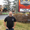 Record-Eagle/Keith King<br /> Tim Olson, general manager, stands at Pirate's Cove Adventure Park in Traverse City.
