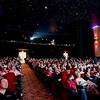 Record-Eagle/Jan-Michael Stump<br /> Hundreds, many dressed for the occasion, watched the British royal wedding of Prince William and Kate Middleton in the pre-dawn hours Friday at the State Theatre.