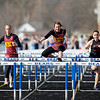 Record-Eagle/Jan-Michael Stump<br /> McBain NMC's Brittanee Wilson (cq) wins the first heat of the girls' 110 meter hurdles during Thursday's meet at Buckley.
