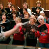 Record-Eagle/Jan-Michael Stump<br /> John Bragle (cq) conducts a rehearsal of the Grand TRaverse Chorale, NMC Chamber Singers and Interlochen Arts Academy Choir for an upcoming performance of Brahms' Requiem with the Traverse Symphony Orchestra.
