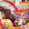 Record-Eagle/Jan-Michael Stump<br /> Milk chocolate Easter bunn, jelly beans and foil-wrapped dark chocolate eggs at Kilwin's.