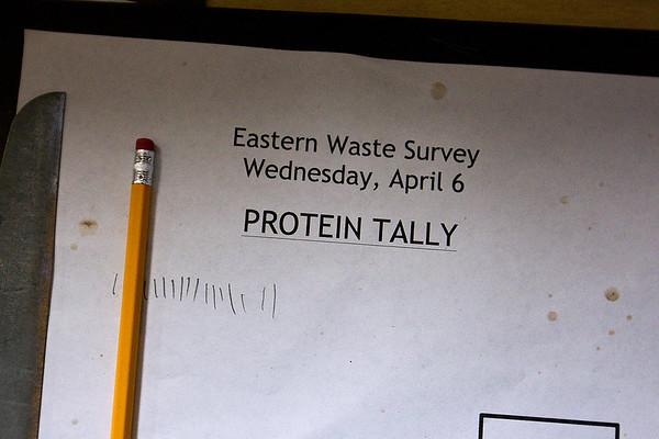 EASTERN ELEMENTARY FOOD SURVEY