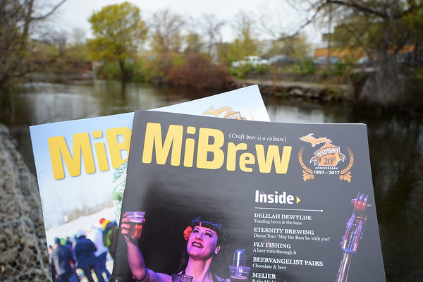 Record-Eagle/Dan Nielsen<br /> MiBrew is published quarterly magazine by the Michigan Brewers Guild. The magazine is designed, printed and distributed by VP Demand Creation Services, based in Traverse City.