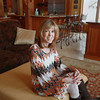 Record-Eagle/Keith King<br /> Claire Scerbak, of Old Mission Peninsula, sits Wednesday, March 20, 2013 for a photograph in her home.