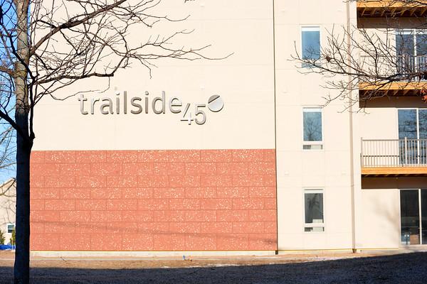 Record-Eagle/Dan Nielsen<br /> The Trailside 45 apartment building on Garfield Avenue in Traverse City.