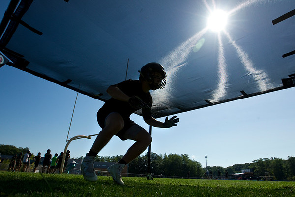 TC CENTRAL FOOTBALL PRACTICE
