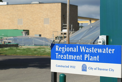Record-Eagle/Keith King The Regional Wastewater Treatment Plant in Traverse City.