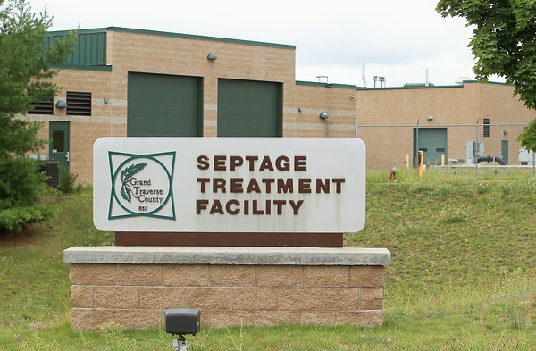 Record-Eagle/Keith King<br /> The Grand Traverse County Septage Treatment Facility.