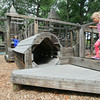 Record-Eagle/Keith King<br /> Ben Hall, back left, 5, of Indian River, and his sister Becca Hall, 3, play Tuesday at the Grand Traverse County Civic Center's Kid's Kove playground.