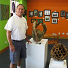 Record-Eagle Photo/Art Bukowski<br /> Owner Mike Hedden stands inside 223 E. State St. Boutique & Compassion Center Wednesday.