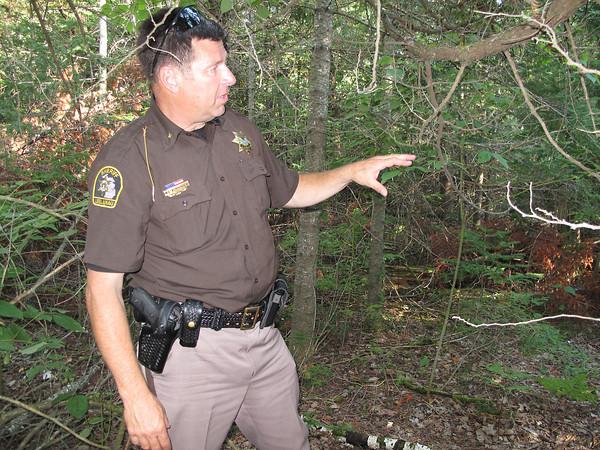 Record-Eagle/Matt Troutman<br /> Leelanau County Sheriff Mike Borkovich