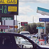 Record-Eagle/Keith King<br /> Gas prices are displayed at $3.84 a gallon at the Mutual Service station and $4.09 a gallon and Speedway station (background) Tuesday, August 28, 2012 in Traverse City.