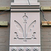 Record-Eagle/Jan-Michael Stump<br /> Pilasters are being attached to the Union Street side of a Front Street building. When completed, the decorative work will include lights illuminating the upper part of the building.