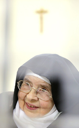 Record-Eagle/Keith King<br /> Mother Teresa Margaret, who is about to turn 100-years-old.