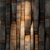 Record-Eagle/Jan-Michael Stump<br /> Local artist Joe Buteyn designed 7 Monks Taproom and made many of the furnishings, such as wall decorations made from barrel staves.