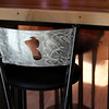 Record-Eagle/Jan-Michael Stump<br /> Local artist Joe Buteyn designed 7 Monks Taproom and made many of the furnishings, such as this bar stool.