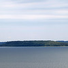 Record-Eagle/Keith King<br /> Power Island in West Grand Traverse Bay.