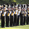 Record-Eagle/Keith King<br /> Members of the Traverse City Central High School Marching Band perform Thursday, September 1, 2011 prior to the football game between Traverse City Central and Cadillac at Thirlby Field.
