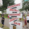 Record-Eagle/Keith King<br /> A sign post guides attendees Tuesday, August 6, 2013 during the annual Northwestern Michigan Fair in Blair Township.