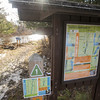 Record-Eagle/Keith King<br /> Signs and maps stand at the Boardman Valley Trail Thursday on the Boardman Valley Nature Preserve in Traverse City.