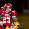 Record-Eagle/Jan-Michael Stump<br /> Suttons Bay running back Noah Reyhl led the Norse to a 9-0 regular season and was named offensive captain.