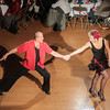 Record-Eagle/Keith King<br /> Cliff Shanoski (instructor) and Juliette Schultz (star) dance Friday during the SwingShift and the Stars Dance-Off for Charity at the City Opera House in Traverse City.