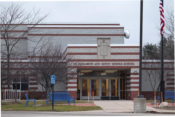 Record-Eagle/Jan-Michael Stump<br /> St. Elizabeth Ann Seton Middle School.