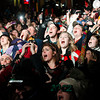 Record-Eagle/Jan-Michael Stump<br /> Crowds count down the New Year at  Front and Cass Streets for Traverse City's Cherry T-Ball Drop.