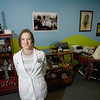 Record-Eagle/Keith King<br /> Angela Janovich, president of Collective Incorporated, at her office in Traverse City.