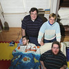 Record-Eagle/Jan-Michael Stump<br /> Chris and Donna Miller with their sons Ben and Jack (cq) in their Traverse City home. Ben, 17, and Jack, 20, have Aicardi-Goutieres syndrome, a rare auto-immune disorder that's left them severely disabled.
